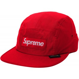 FW18 Supreme Cordura Camp Cap Red