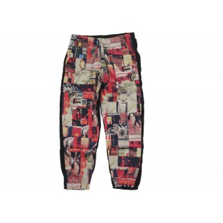 FW18 Supreme Comme des Garcons SHIRT Patchwork Skate Pant Multicolor