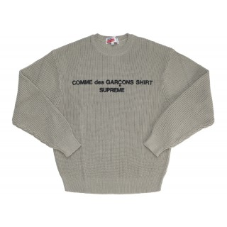 FW18 Supreme Comme des Garcons SHIRT Sweater Tan