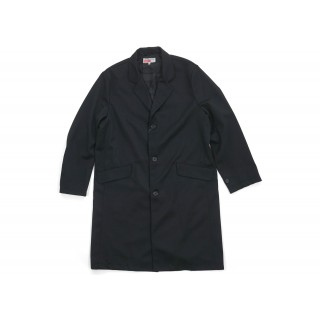FW18 Supreme Comme des Garcons SHIRT Wool Overcoat Black