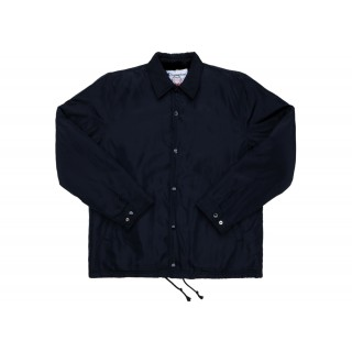 FW18 Supreme Champion Label Coaches Jacket Black