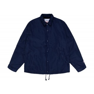 FW18 Supreme Champion Label Coaches Jacket Navy