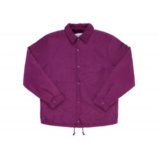 FW18 Supreme Champion Label Coaches Jacket Purple