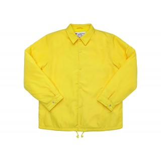 FW18 Supreme Champion Label Coaches Jacket Yellow