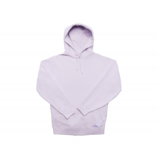 FW18 Supreme Corner Label Hooded Sweatshirt Light Purple