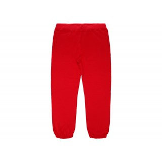 FW18 Supreme Corner Label Sweatpant Red
