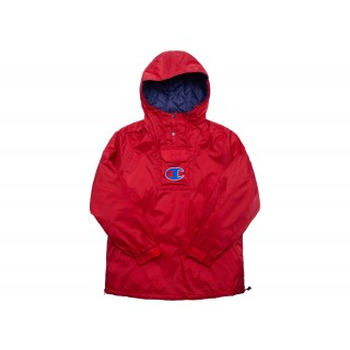 FW18 Supreme Champion Pullover Parka Red