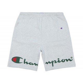 FW18 Supreme Champion Sweatshort Ash Grey