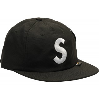 FW18 Supreme Cordura S Logo 6-Panel Black
