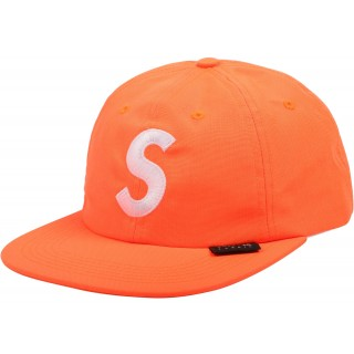 FW18 Supreme Cordura S Logo 6-Panel Neon Orange