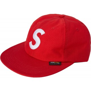 FW18 Supreme Cordura S Logo 6-Panel Red
