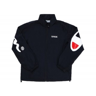 FW18 Supreme Champion Track Jacket Black