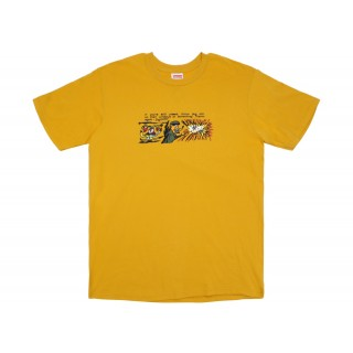 FW18 Supreme Dog Shit Tee Mustard