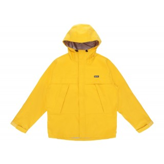 FW18 Supreme Dog Taped Seam Jacket Yellow