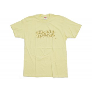 FW18 Supreme Eternal Tee (FW18) Pale Yellow
