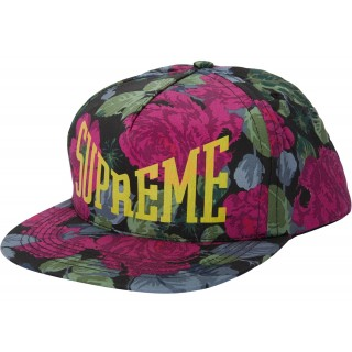 FW18 Supreme Floral 5-Panel Black