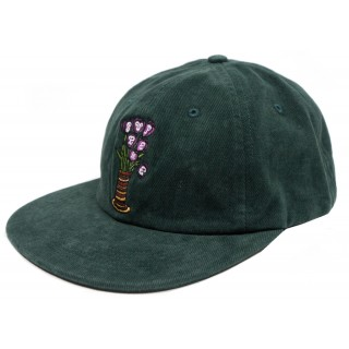 FW18 Supreme Flowers 6-Panel Dark Green