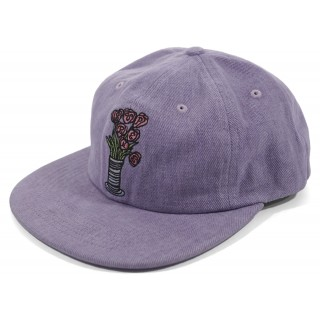 FW18 Supreme Flowers 6-Panel Light Purple