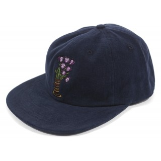 FW18 Supreme Flowers 6-Panel Navy
