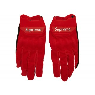 FW18 Supreme Fox Racing Bomber LT Gloves Red
