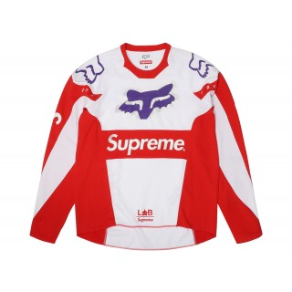 FW18 Supreme Fox Racing Moto Jersey Top Red