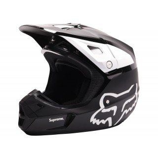 FW18 Supreme Fox Racing V2 Helmet Black