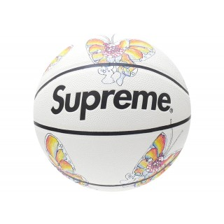FW18 Supreme Gonz Butterfly Spalding Basketball White