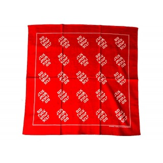 FW18 Supreme Go Fuck Yourself Bandana Red