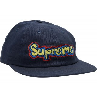 FW18 Supreme Gonz Logo 6-Panel Navy