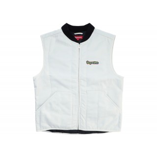 FW18 Supreme Gonz Shop Vest White