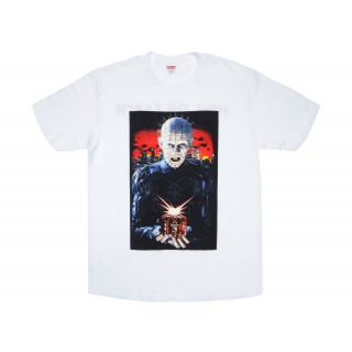 FW18 Supreme Hellraiser Hell on Earth Tee White
