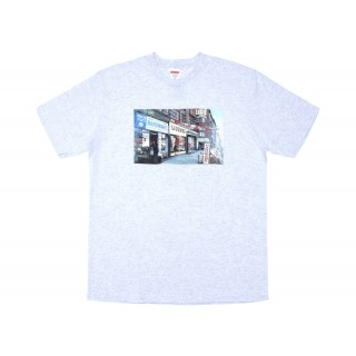 FW18 Supreme Hardware Tee Ash Grey