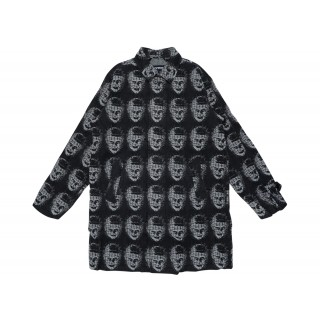 FW18 Supreme Hellraiser Trench Coat Black