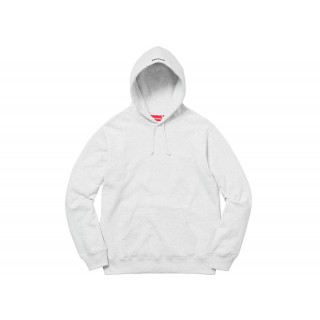 FW18 Supreme Illegal Business Hooded Sweatshirt Ash Grey