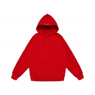 FW18 Supreme Illegal Business Hooded Sweatshirt Red