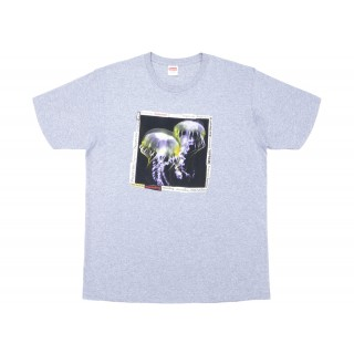 FW18 Supreme Jellyfish Tee Heather Grey