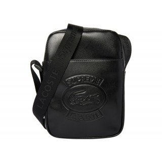 FW18 Supreme LACOSTE Shoulder Bag Black