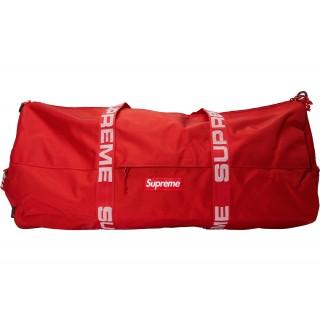 FW18 Supreme Large Duffle Bag (SS18) Red