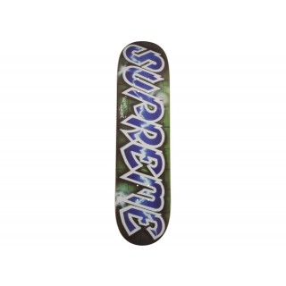 FW18 Supreme Lee Quinones Lee Logo Skateboard Deck Blue