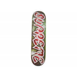 FW18 Supreme Lee Quinones Lee Logo Skateboard Deck Red