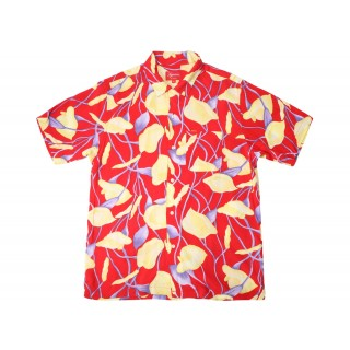 FW18 Supreme Lily Rayon Shirt Red