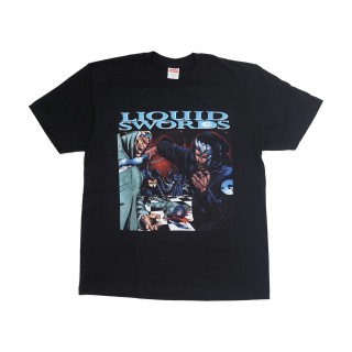 FW18 Supreme Liquid Swords Tee Black