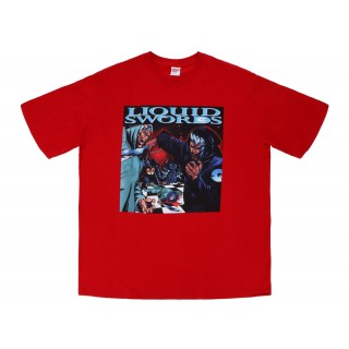 FW18 Supreme Liquid Swords Tee Red