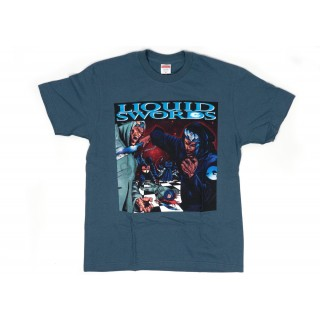 FW18 Supreme Liquid Swords Tee Slate