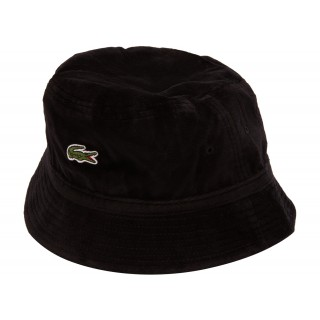 FW18 Supreme LACOSTE Velour Crusher Black