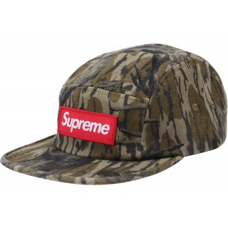 FW18 Supreme Military Camp Cap (FW18) Mossy Oak Camo