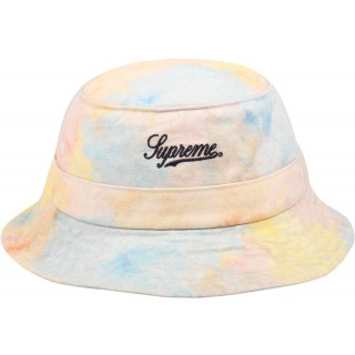 FW18 Supreme Multicolor Denim Crusher Multicolor