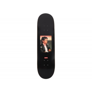FW18 Supreme Michael Jackson Skateboard Deck Black