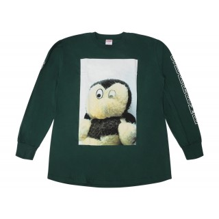 FW18 Supreme Mike Kelley AhhYouth! L/S Tee Dark Green
