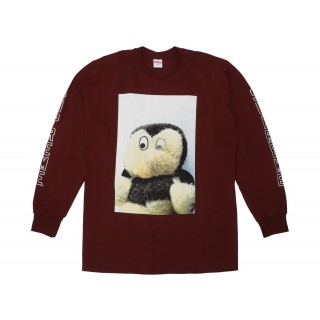 FW18 Supreme Mike Kelley AhhYouth! L/S Tee Burgundy
